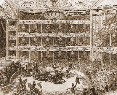 Astley's Amphitheatre in 1843