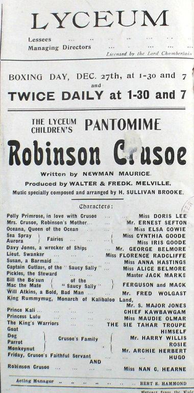 Robinson Crusoe Lyceum