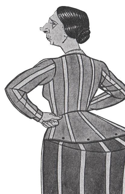 Bertha Caricature 1