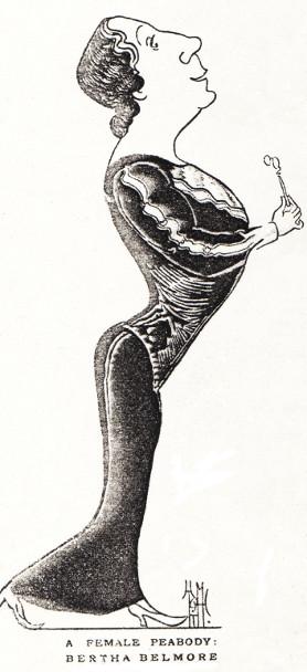 Bertha Caricature 2