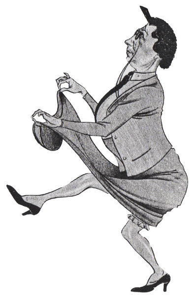 Bertha Caricature 4