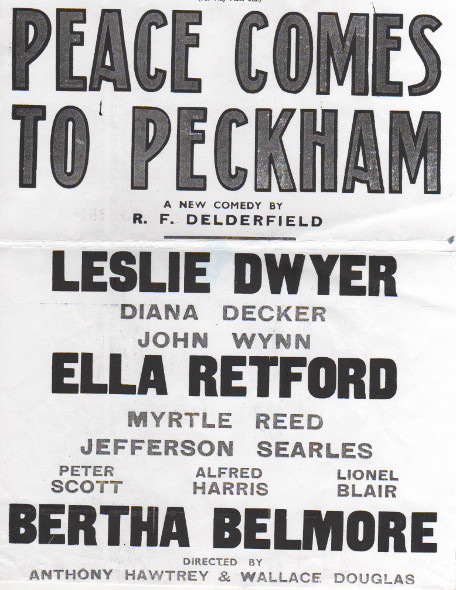 Bertha Belmore Peace Comes to Peckham 1947