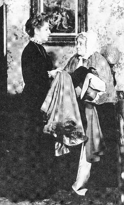 Alice Maude Belmore-Cliffe and Judy Anders in The Three Sisters