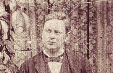 George Garstin in the Garden