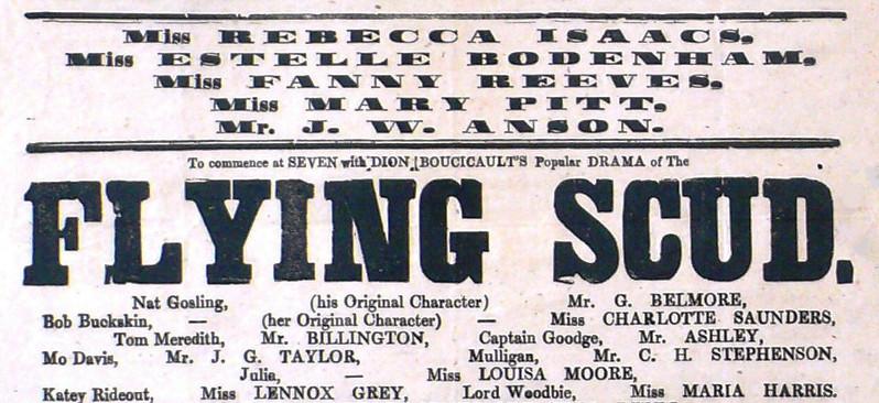 George Benjamin Belmore Flying Scud