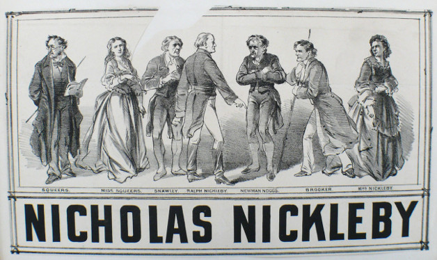 George Benjamin Belmore Nicholas Nickleby 1874