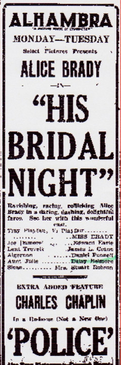 Daisy Belmore in His Bridal Night