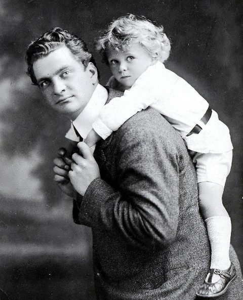 Samuel Waxman, and son Eric