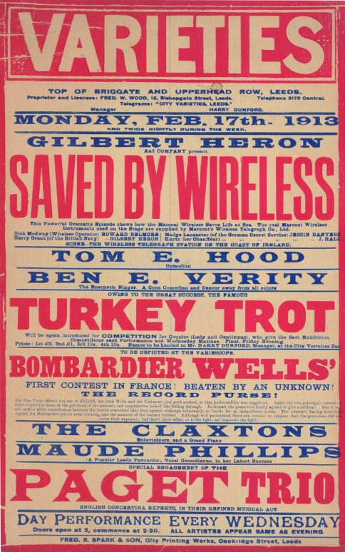 Gilbert Heron Saved by Wireless 1913