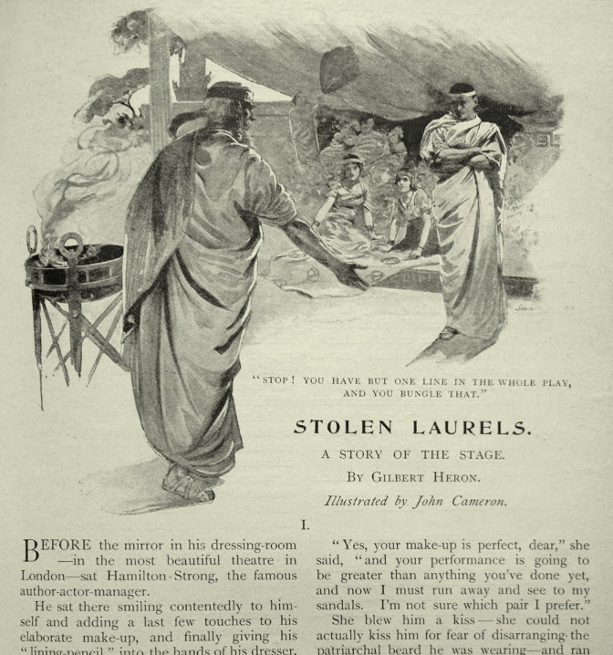 Gilbert Heron Stolen Laurels