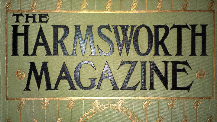 The Harmsworth Magazine cover