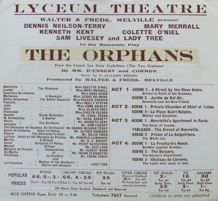 jessie belmore the orphans lyceum