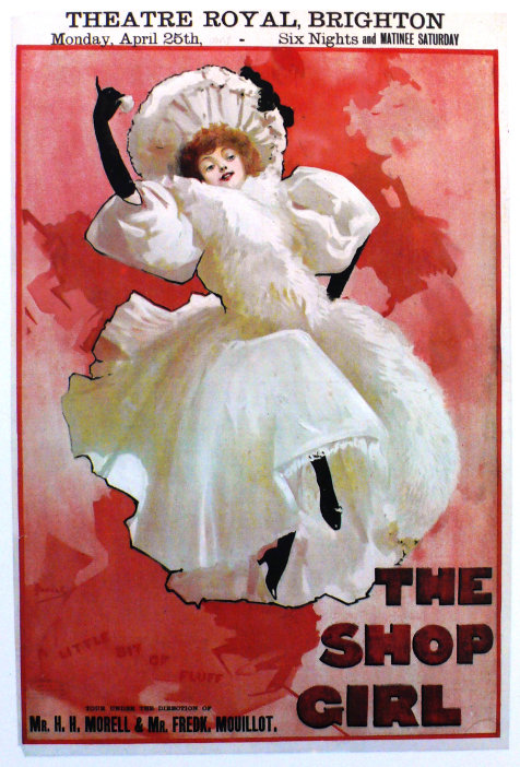 Lillie Belmore The Shop girl poster