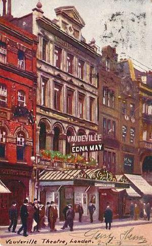 vaudeville theatre london